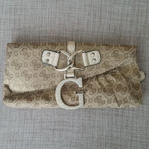 Guess Gold Clutch
